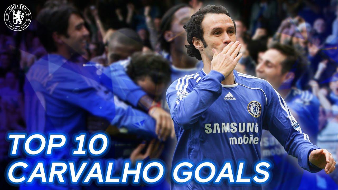 Top 10 Ricardo Carvalho Goals | Chelsea Tops