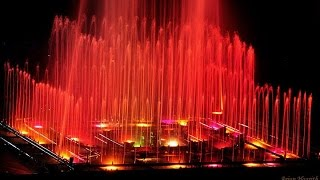 the musical and dancing fountain of brindavan garden mysore