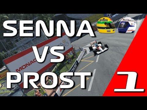 F1 2019 Legends Edition: Senna VS Prost Event 1 - MONACO CHECKPOINT CHALLENGE