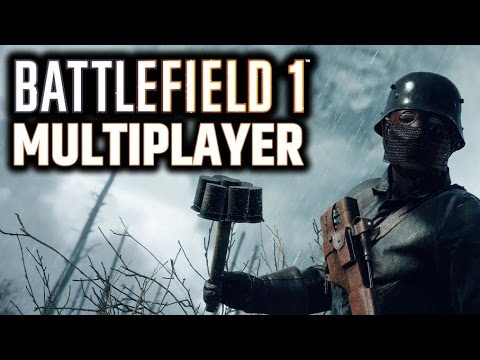 BATTLEFIELD 1 GAMEPLAY MULTIPLAYER PS4 | LIVE