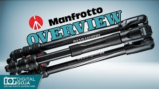 Manfrotto Befree Advanced Travel Aluminum Tripod with Ball Head | Overview
