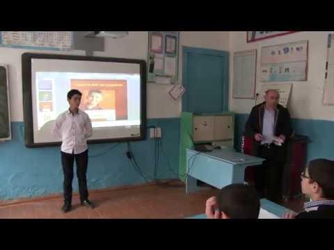 Зубанчинская СОШ имени Амира Гази.Открытый классный час 7 класс