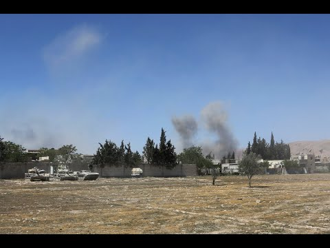 مصادر ميدانية: ميليشيات إيرانية ولبنانية وعراقية تقصف درعا  - نشر قبل 10 ساعة