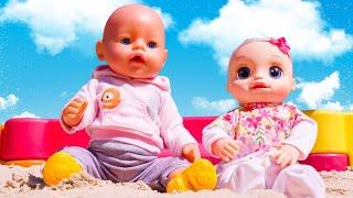 Детские видео с куклами - БЕБИ БОН и Сестричка в Песочнице! – Мультики для детей с игрушками.