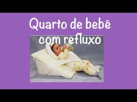 bebe tem que dormir inclinado