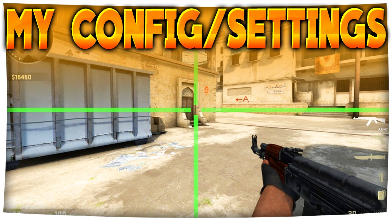 CS:GO - My Config/Settings + Funny Ending :D (Best Settings in CS:GO)