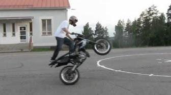 A3ttu summer 2011. Derbi stunt