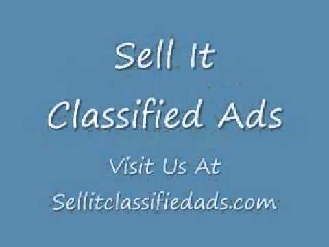Free Classified Ads - SellItClassifiedAds.Com - Post Today - Sell It Classified Ads
