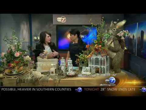 Spring Decorations tips on ABC7