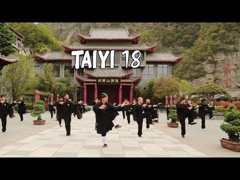 Taiyi 18 with Master Chen Lisheng  武当太乙拳