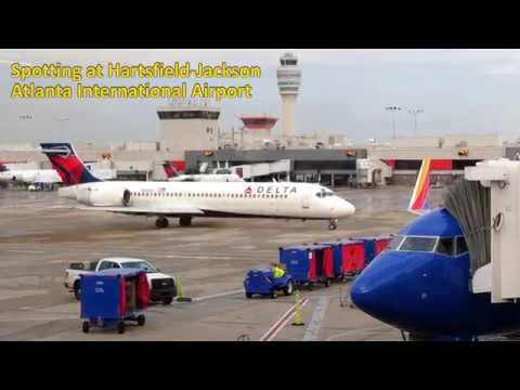 Spotting at Hartsfield-Jackson Atlanta International Airport