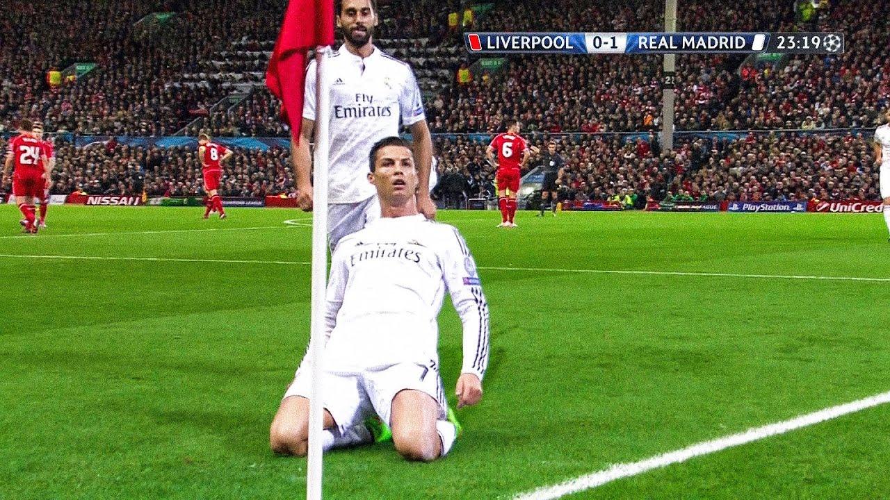 The Day Cristiano Ronaldo Silenced Anfield