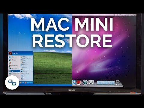 Mac Mini Restoration - Mac OS X Snow Leopard And Windows XP - Krazy Ken's Tech Misadventures