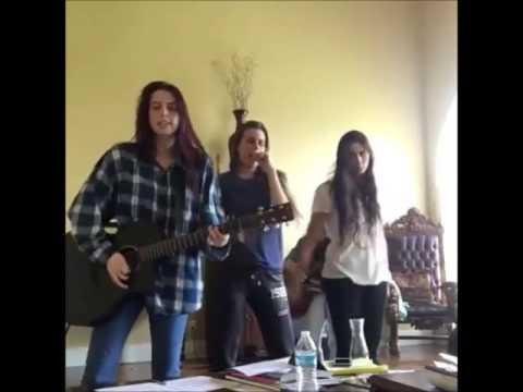 """Cimorelli Singing """"I'm A Mess"""""""