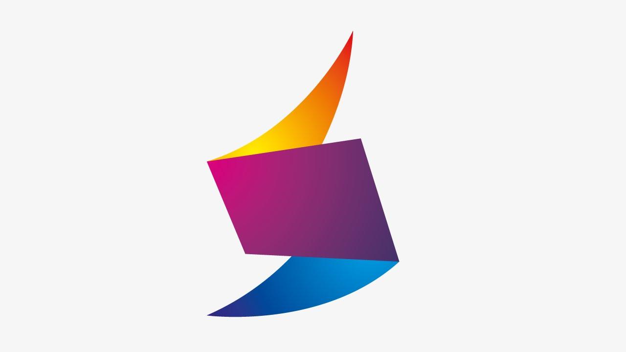 Abstract Letter Icon Logo Design Tutorial / Adobe