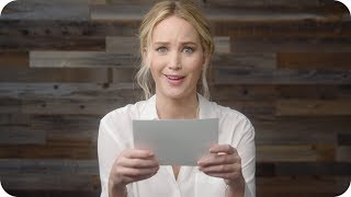 Jennifer Lawrence Helps the Internet Escape Awkward Situations // Omaze