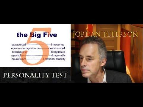 Jordan Peterson's personality test (online)