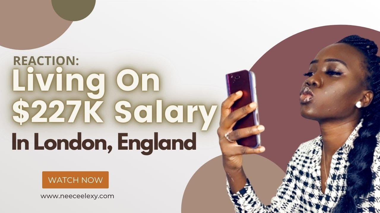 Reaction to 28 years old living on $227,000 salary as Tech company senior manager in London, UK.