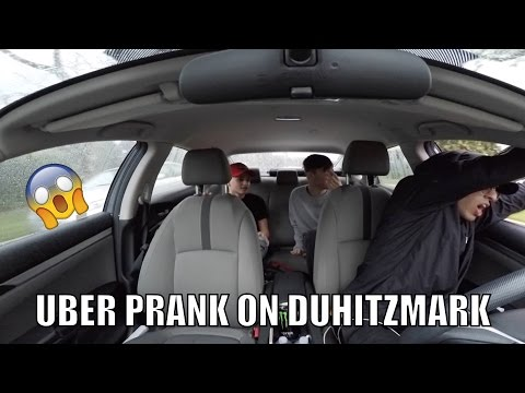 DuhitzMark Uber Prank | Mark Thomas