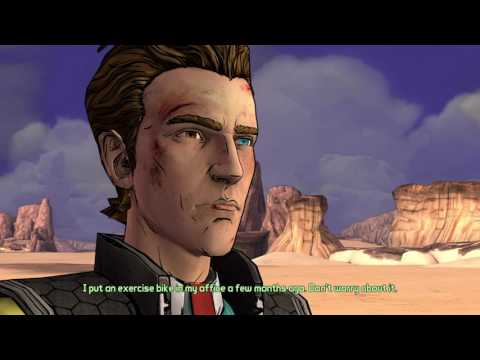 Tales From The Borderlands Episode 2: Rhys And Vaughn Stranded In The Desert