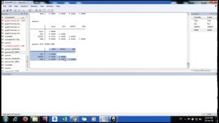 how to do correlation and significance test in stata