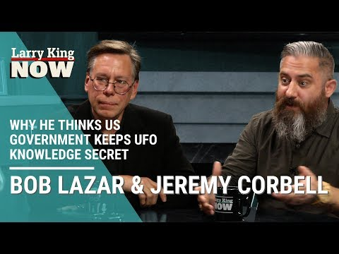 Jeremy Corbell On Why He Thinks US Government Keeps UFO Knowledge Secret