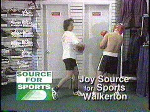 1999 Montage of JOY Source 4 Sports TV ads