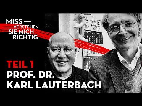 Wer Ist Prof Dr Karl Lauterbach Teil1 Youtube