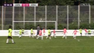 현대카드 키즈사커매치 IV 본선 - 골클럽 vs 홍명보 (전반)