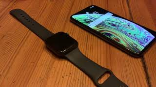 Messenger (WhatsApp, Facebook Messenger etc.) benutzen mit der Apple Watch Series 4 Chat Anleitung