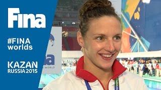 Katinka Hosszu: winner of Women's 400m Individual Medley in Kazan (RUS)