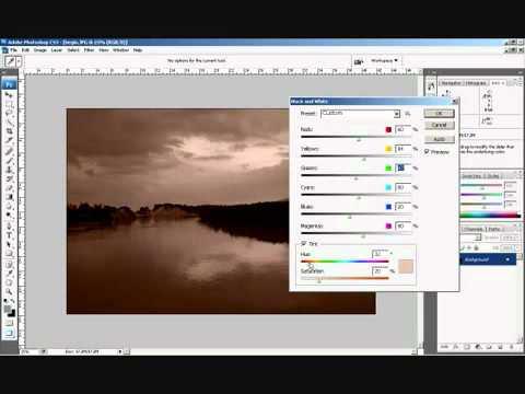 Photoshop CS3 - Phan 2 - Bai 5 - Chinh mau tat ca trong 1