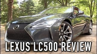 2018 Lexus LC500: Start Up, Test Drive & In Depth Review