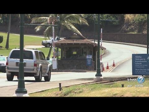 Lockdown lifted at Kamehameha Schools Kapalama Campus
