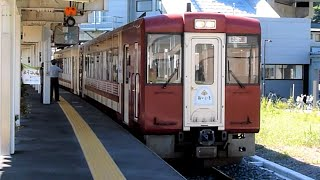 JR東日本 観光列車 おいこっと 飯山駅 出線