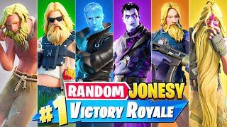 The *RANDOM* JONESY BOSS Challenge in Fortnite!