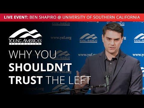 Ben Shapiro LIVE at University of Southern California