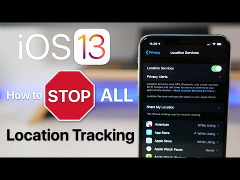 How To Stop All Location Tracking In All Apple Products iPhone iPad iPod