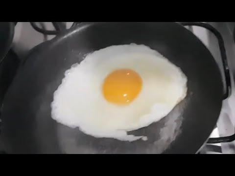 Segredo Para Não Grudar Ovos Na Panela Velha (Frigideira) De Um Like Inscreva-se E Compartilhe.