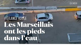 Marseille se réveille les pieds dans l'eau après des pluies diluviennes