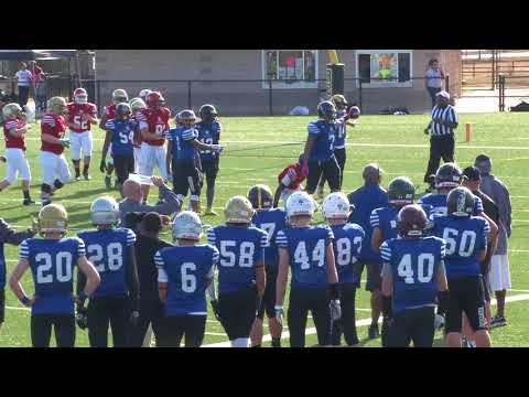 12.3.17 💥13U FBU Kentucky vs. GFL (Gwinnett County, Georgia) - 8th Grade Round 2 Finals