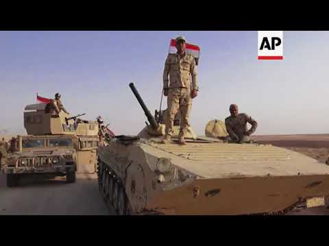 Iraqi forces set to strike IS militants in Anah
