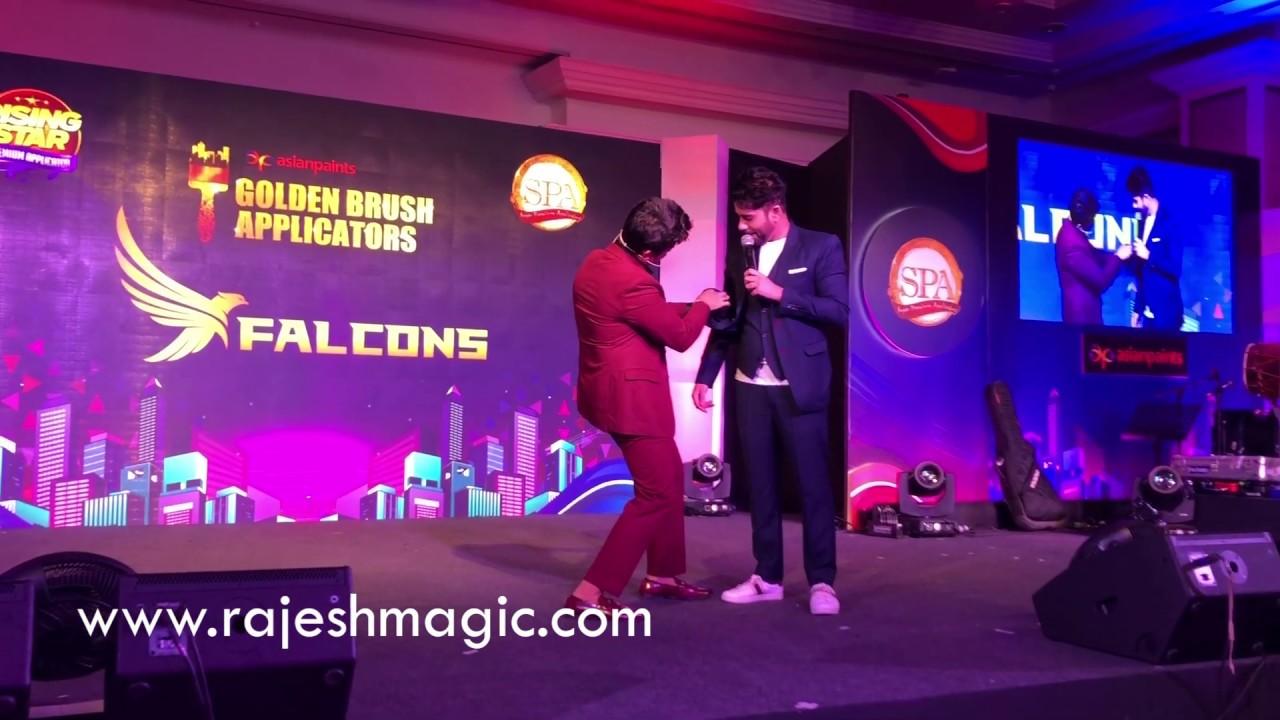 Rajesh kumar magic corporate event at TAJ LANDS END MUMBAI | ipad magic | illusion