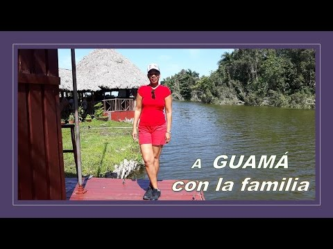 A GUAMÁ con la familia – CUBA- MATANZAS (Vlog 9)