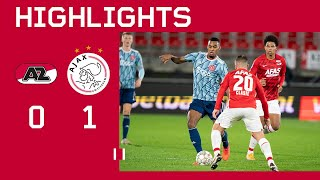 Highlights | AZ - Ajax | KNVB Beker | NEXT STOP: QUARTER FINAL