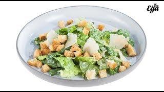Классический рецепт салата «Цезарь». Золотая тысяча «Еды»