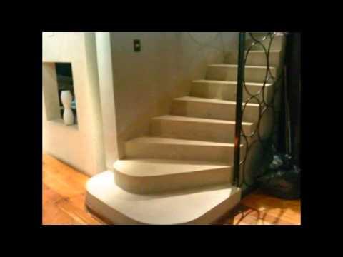Treppen und Mikrozement - YouTube