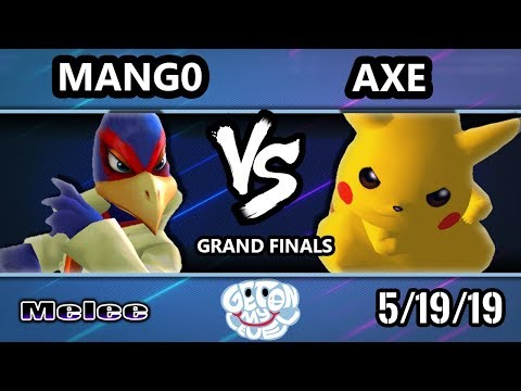 GOML 2019 SSBM - C9 | Mango (Falco) Vs. Tempo | Axe (Pikachu) Smash Melee Tournament Grand Finals