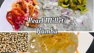 Pearl Millet Recipe Bajra Grain Kambu Recipe Quick &amp Healthy Breakfast White pepper Vlog13