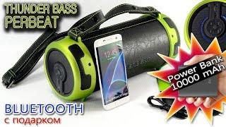 ОБЗОР: Bluetooth бумбокс для Активного Отдыха Thunder Bass Perbeat 13W + Power Bank 10000mAh(, 2018-03-24T08:12:35.000Z)